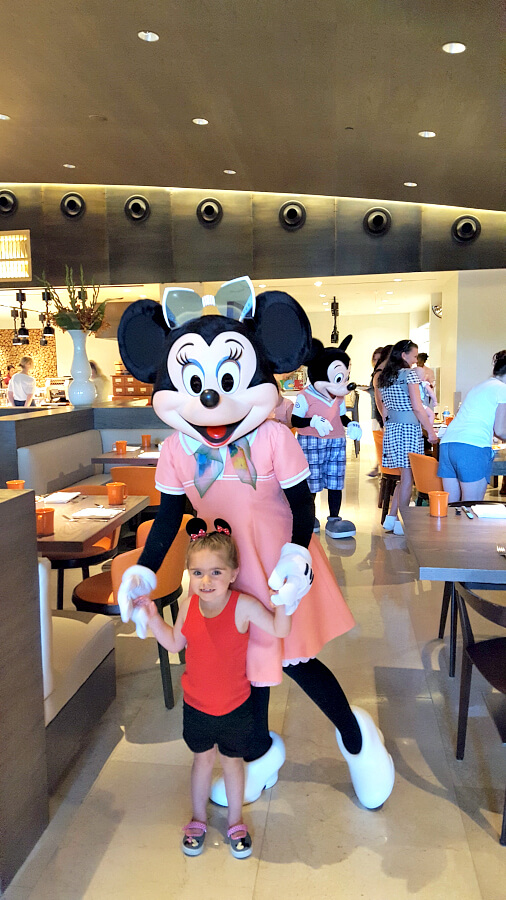 Four Seasons Resort Orlando character breakfast