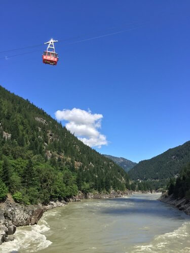Hells Gate Airtram, near Evergreen B&B, Hope, BC, Canada