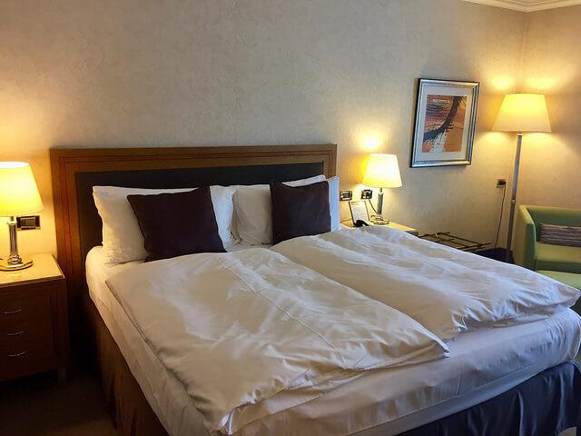 standard king room, intercontinental prague, czech republic hotel, prague hotel