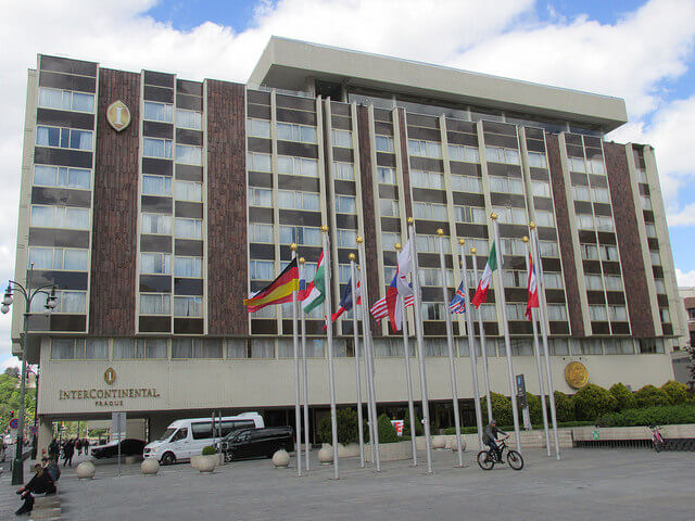 intercontinental prague, intercontinental hotel, prague hotel, prague business hotel