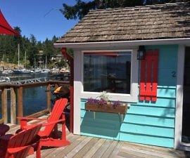 Cottage, John Henry's resort, Sunshine Coast, BC