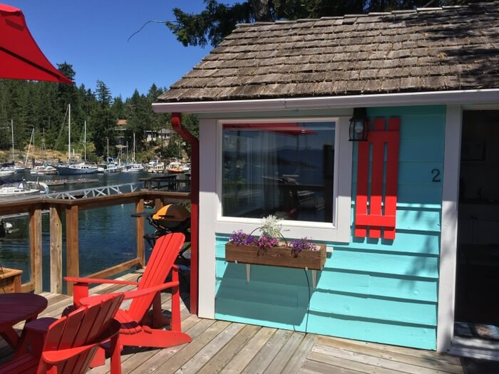Cottage, John Henry's resort, Sunshine Coast, BC