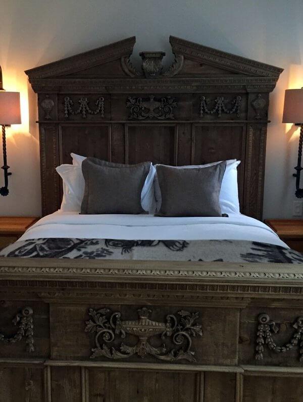 Royal suite bedroom, Hotel Port-Royal, Quebec City, Canada