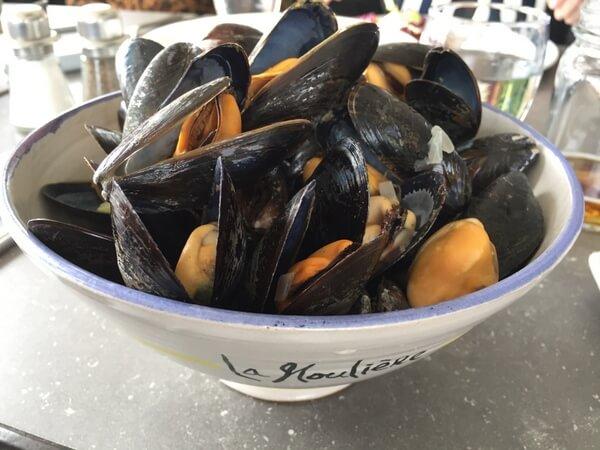 Mussels, Domaine du Vieux-Couvent, Magdalen Islands, Quebec, Canada
