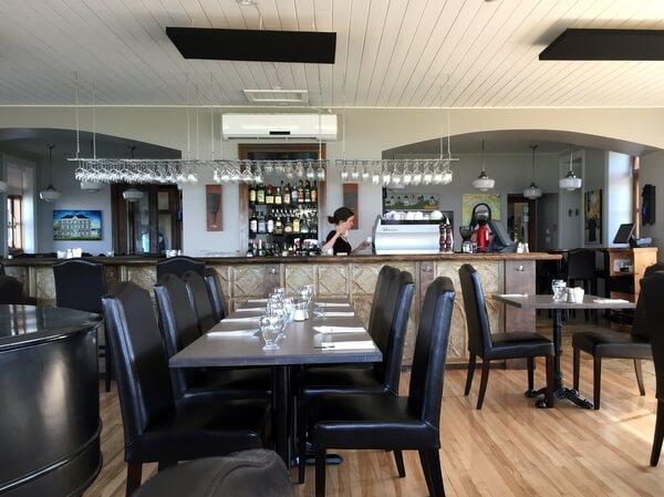 Restaurant, Domaine du Vieux-Couvent, Magdalen Islands, Quebec, Canada