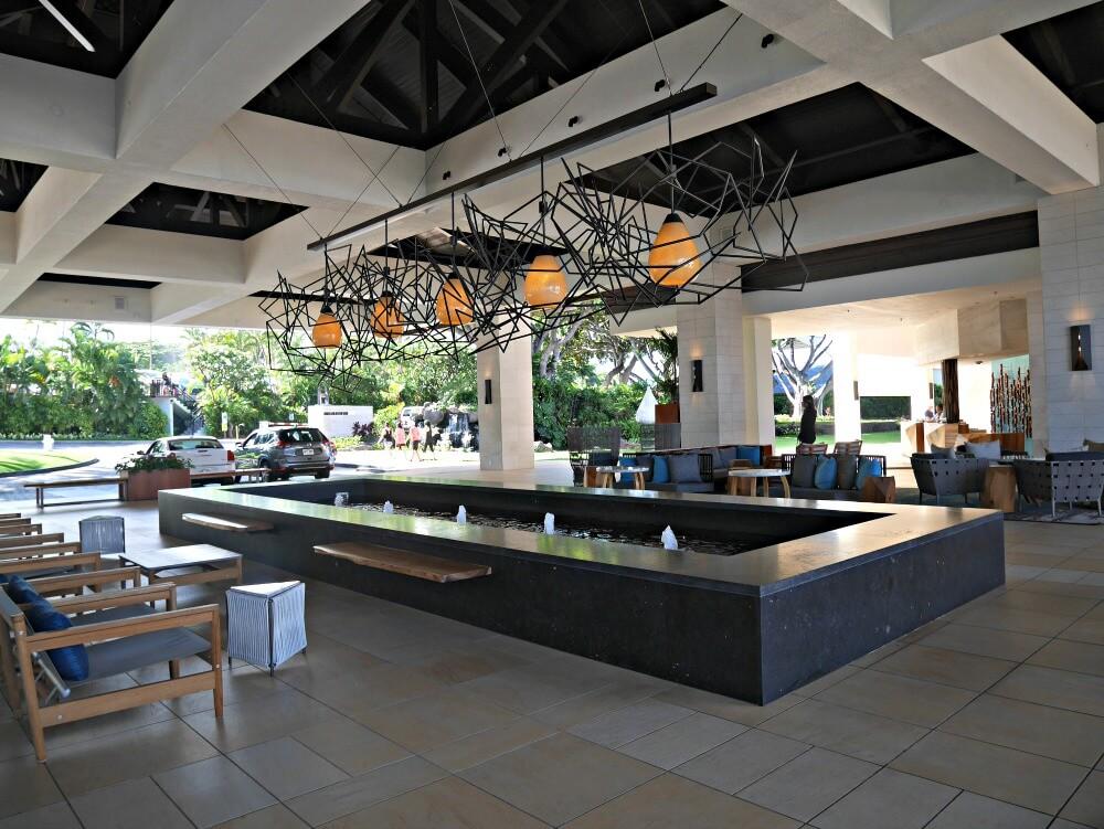 Grand Wailea hotel lobby