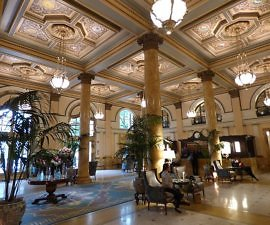 Willard Intercontinental hotel lobby DC