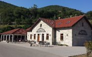 Sleep in a Restored Train Station at Gostonica Zavala in Bosnia-Herzegovina