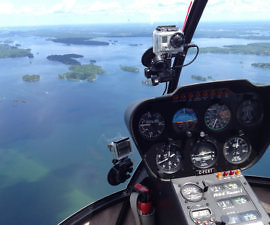 1000 Islands Via Helicopter, Gananoque, Ontario, Canada