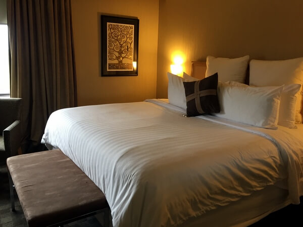 Guest room, Ambassador Resort Hotel, Kingston, Ontario, Canada