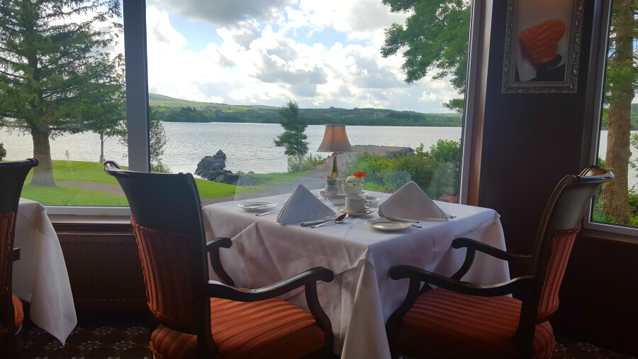 Harveys Point Hotel Ireland Dining Lakeview restaurant