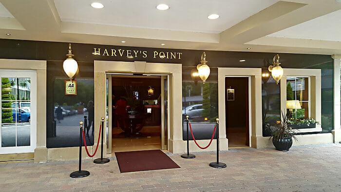 Harvey's Point Hotel Ireland entrance