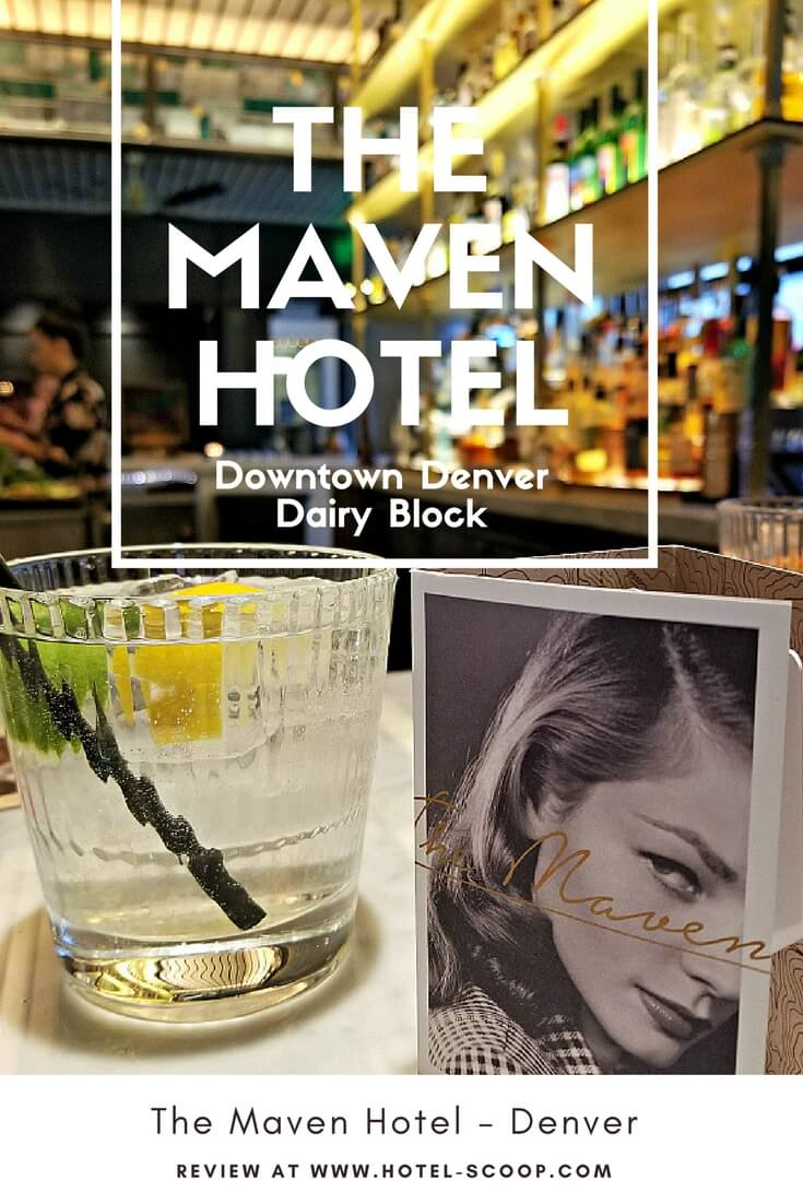 Chic and boutique, The Maven Hotel, Downtown Denver - Review at Hotel-Scoop.com