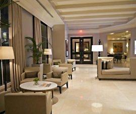 lobby at bristol hotel, panama city