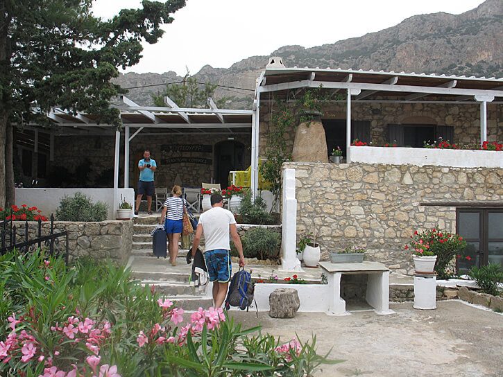 Traditional Greek Cottages with Modern Amenities