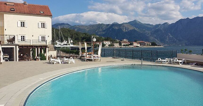 Hotel Splendido near Kotor, Montenegro