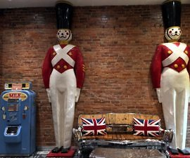 Toy Soliders, Retro Suites, Chatham, Ontario, Canada