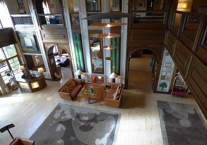 The Brehon Killarney lobby