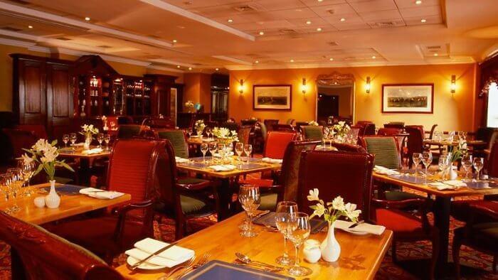 The President's bar at the Davenport Hotel, Dublin, Ireland