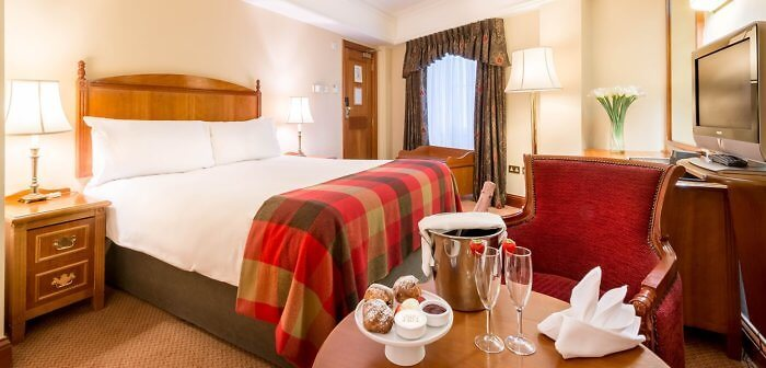 King size beds are also available at the O'callaghan Davenport Hotel, Dublin, Ireland