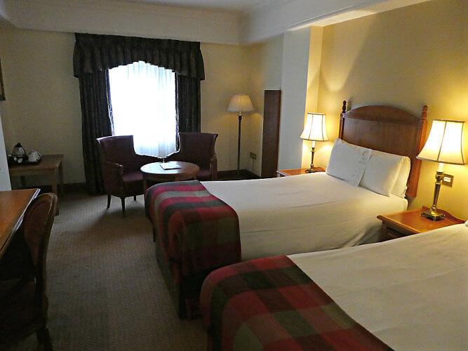 Comfortable rooms at the O'callaghan Davenport Hotel, Dublin, Ireland