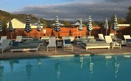 Mineral pools at Calistoga Motor Lodge and Spa