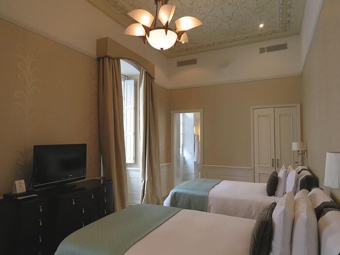 Casa Gangotena room view