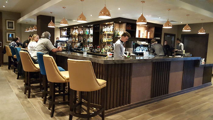 Service can be a bit slow at Coopers Bar & Lounge at the Radisson Blu Hotel Galway, Ireland