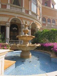 Four Seasons Macao Cotai Strip fountain