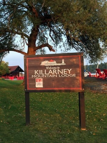 Grounds, Killarney Mountain Lodge, Killarney, Ontario, Canada