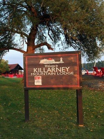 Grounds, Killarney Mountain Lodge, Killarney, Ontario, Canada