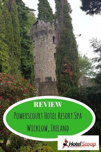 Feel like royalty with a stay at the Powerscourt Hotel Resort Spa near Dublin, Ireland