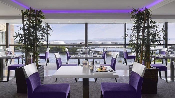 On-site dining includes RAW - sushi in the ski at Radisson Blu Hotel & Spa, Galway, Ireland