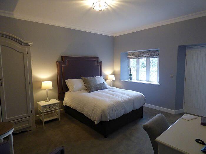 Kilkea Castle guest room