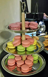 macarons at the W Hotel, St. Petersburg, Russia (Photo by Susan McKee)