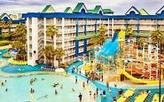 Family Rooms and a Waterpark at Orlando Suites Holiday Inn Resort