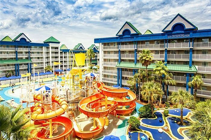 Orlando Suites waterpark hotel