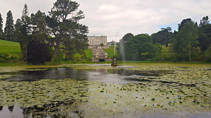 take time to explore Powerscourt Estate, its House and Gardens.