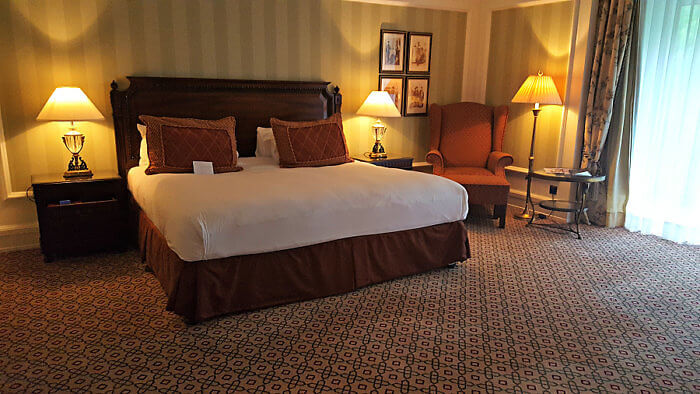 Rooms and suites at Powerscourt Hotel Resort Spa near Dublin are spacious -- average 700 square feet.