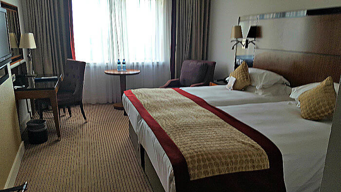 Standard room at the Radisson Blu Hotel & Spa Galway Ireland