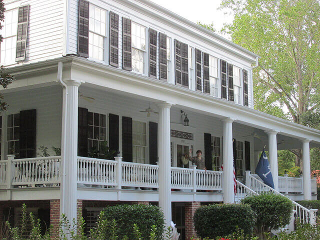 bloomsbury inn, antebellum home, camden, south carolina