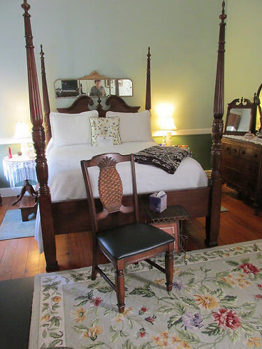 sally chestnut room, bloomsbury inn, camden, south carolina