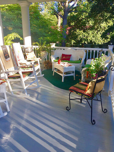 bloomsbury inn verandah, camden, south carolina