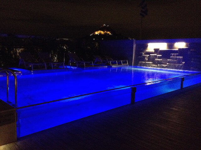 Electra Metropolis rooftop pool Athens Greece
