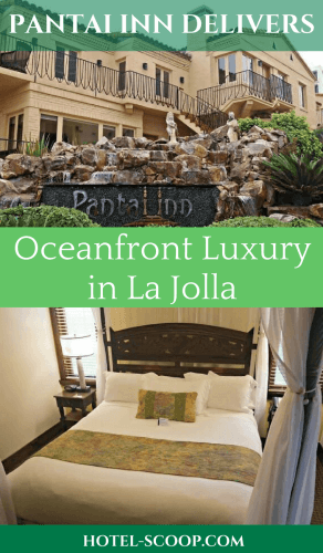 When you're staying at La Jolla's top hotel as ranked on TripAdvisor, you have certain expectations. The Pantai Inn delivered all we expected and more.