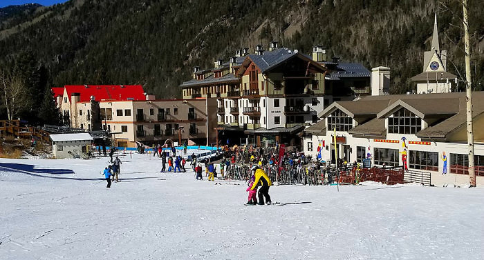 The Blake is located in the heart of the village of Taos Ski valley, New Mexico