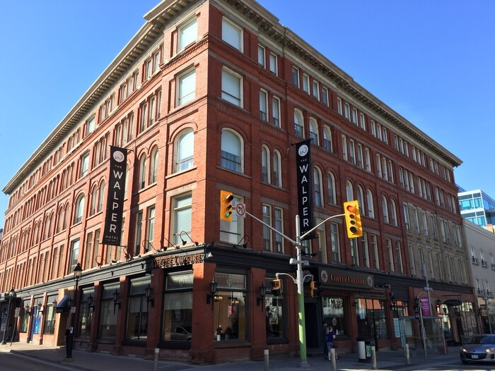 The Walper boutique hotel, Kitchener, Ontario, Canada