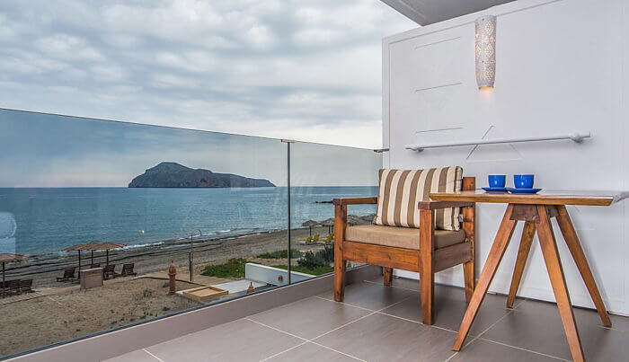 Balcony, Platanias Ariston, Crete, Greece (Photo Courtesy of Platanias Ariston)