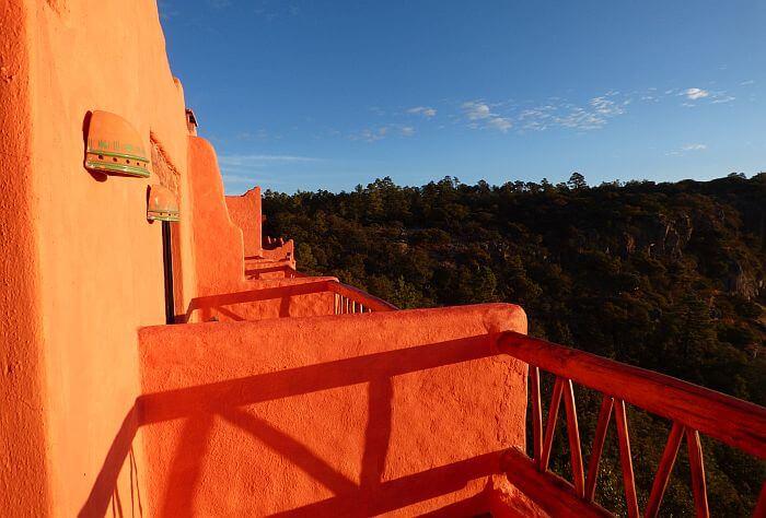Hotel Posada Mirador Barrancas del Cobre balcony