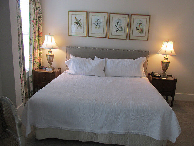 carriage house inn, king room, boutique hotel, aiken, south carolina